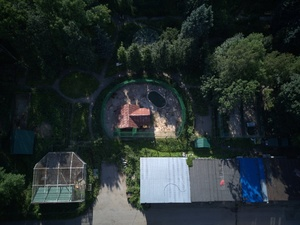Активисты показали с квадрокоптера, что происходит в закрытом зоопарке «Мишутка»