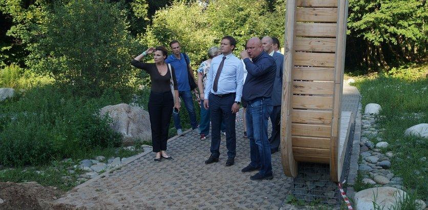 Подготовка к установке амфитеатра началась на Щелоковском хуторе - фото 1