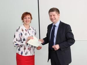 В Университете Лобачевского вручили сертификаты по курсу «Наставник проекта»