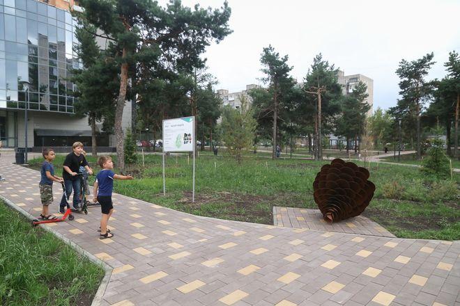 Сквер на Юбилейном бульваре в Нижнем Новгороде открылся после благоустройства - фото 1