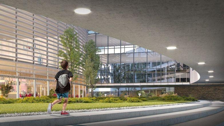 Архитектурные решения для корпусов «Школы 800» подготовили проектировщики - фото 8