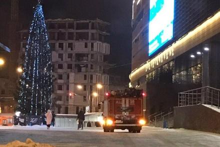 Ночью из ТРЦ «Небо» эвакуировали людей