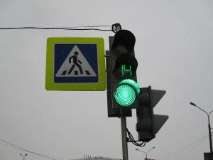 Светофор на улице Студенческой будет работать по новой схеме