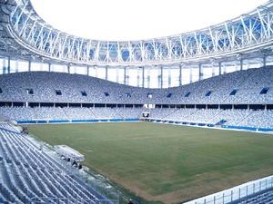 Представители FIFA побывали в Нижнем Новгороде с финальной проверкой нового стадиона (ФОТО)