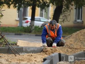 Четыре из 16 запланированных объектов осталось благоустроить в Нижнем Новгороде