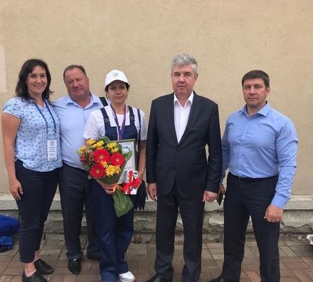 Нижегородка Наталия Туманина стала «бронзовой» дояркой России