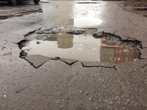 Дорога к детскому саду в Советском районе полностью разрушена