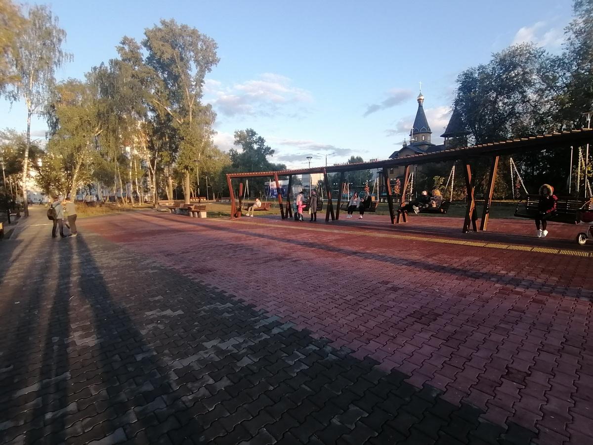 Четыре территории Ленинского района получили новую жизнь в 2021 году - фото 1