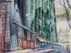 Элеватор на Черниговской появился на картинах дзержинского художника