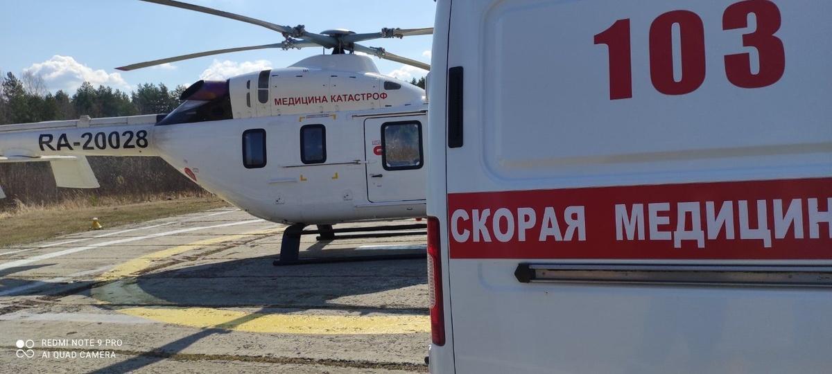 Больше ста пациентов эвакуировали нижегородские бригады санавиации с начала года - фото 1