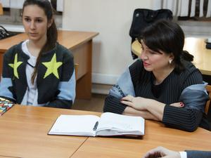 Обладатель премии «Человек года» провела мастер-класс для участников «Академии новых лиц»