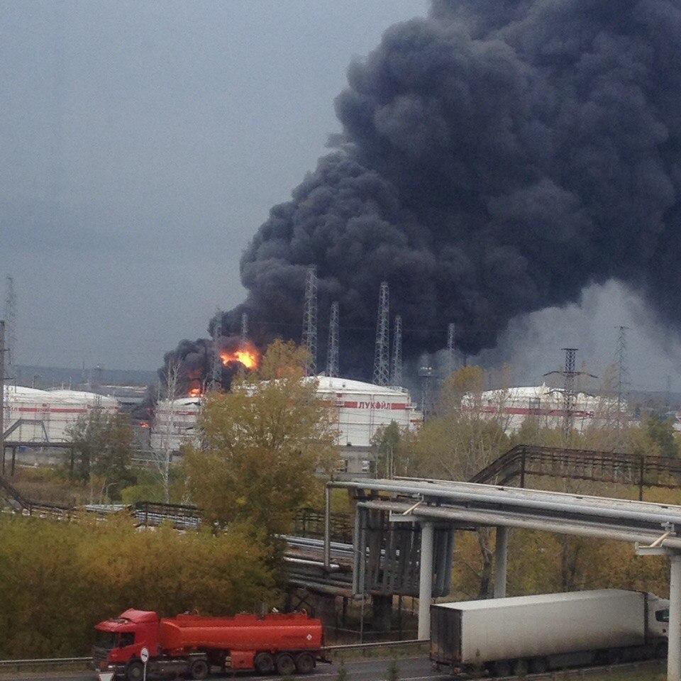 Росприроднадзор поПФО узнает причины взрыва на«Лукойле»