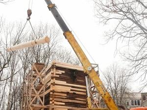Реставрация мельницы-столбовки на Щелоковском хуторе завершится в 2021 году