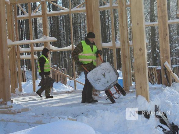 Более 240 рабочих благоустраивают нижегородскую «Швейцарию» - фото 25