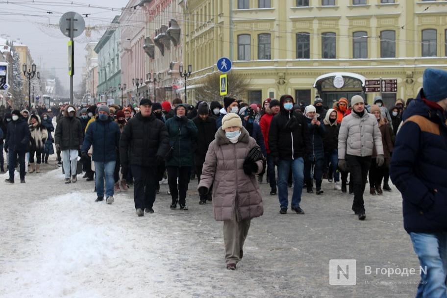 Протестный митинг прошел в Нижнем Новгороде 23 января. Фото - фото 6