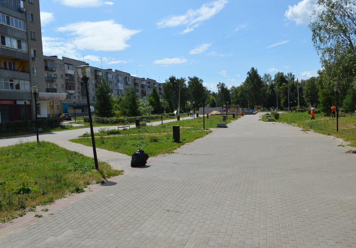 Сквер Авиастроителей в Московском районе должны реконструировать до осени - фото 1