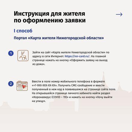 Полная самоизоляция: нижегородцы смогут выходить на улицу по QR-коду - фото 2