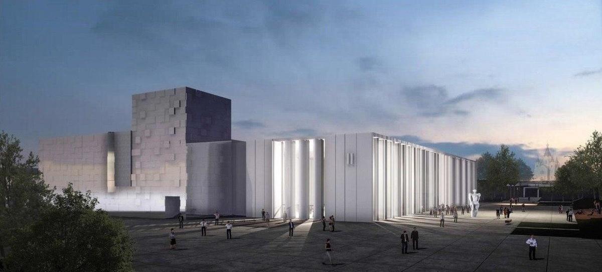 Нижегородцам показали, как будет выглядеть новый павильон Ярмарки - фото 1