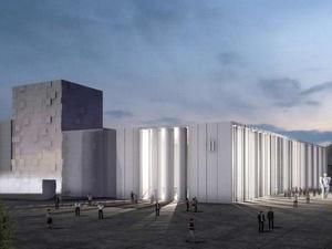 Нижегородцам показали, как будет выглядеть новый павильон Ярмарки