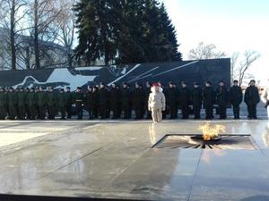 40 нижегородских призывников отправились на службу в Президентский и Семеновский полки