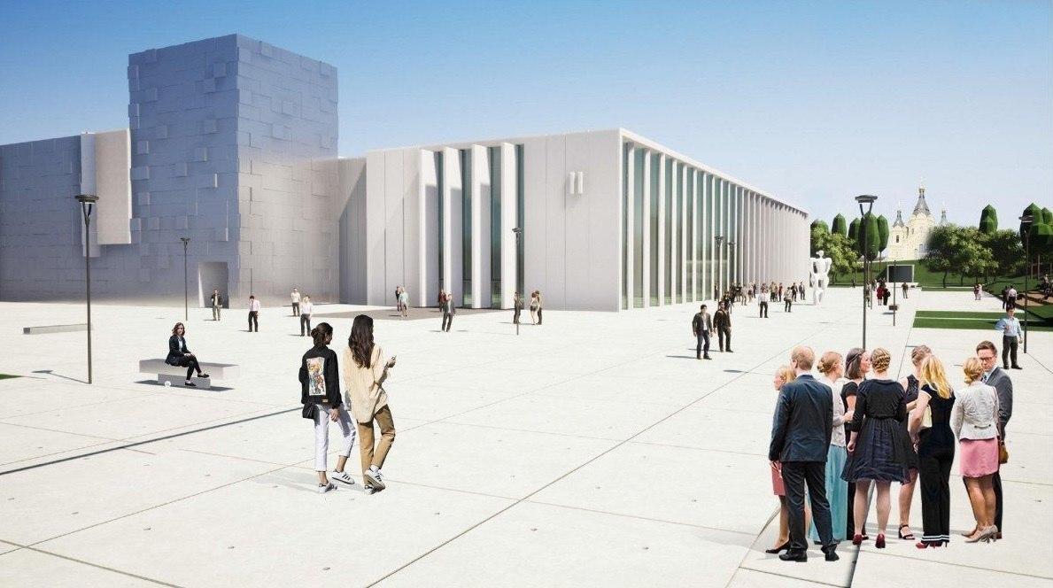 Нижегородцам показали, как будет выглядеть новый павильон Ярмарки - фото 2