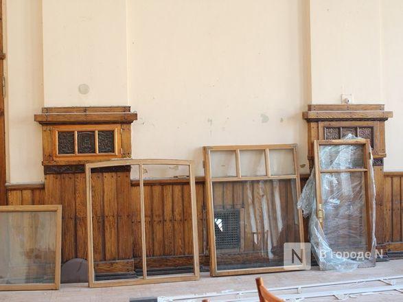Единство двух эпох: как идет реставрация нижегородского Дворца творчества - фото 39