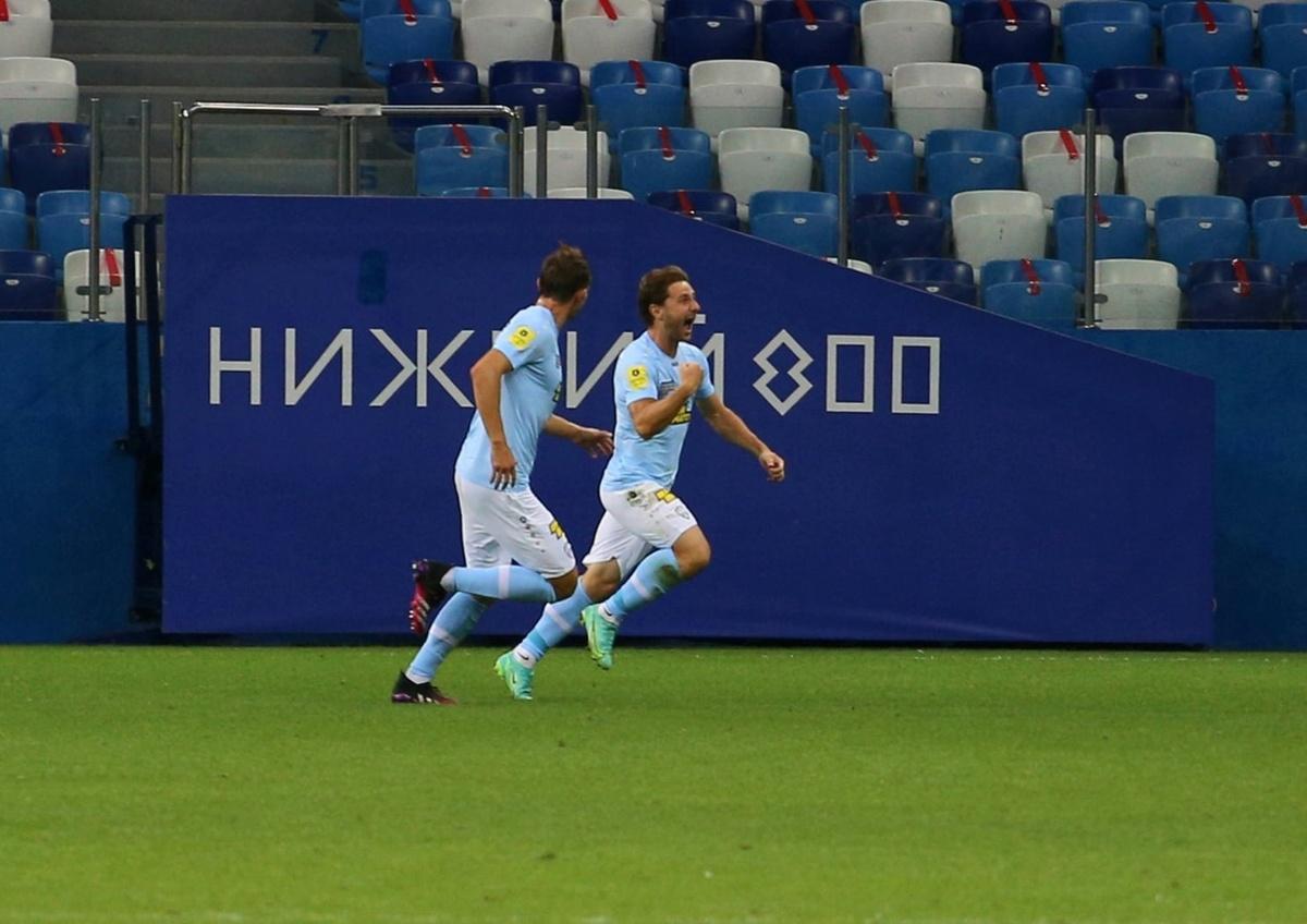 ФК «Нижний Новгород» в дебютном матче в премьер-лиге победил «Сочи» - фото 1
