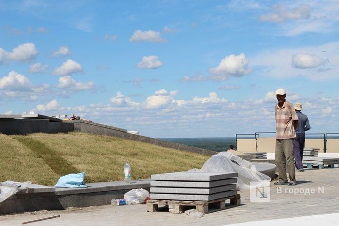 Чкаловскую лестницу открыли, несмотря на продолжающиеся работы - фото 5