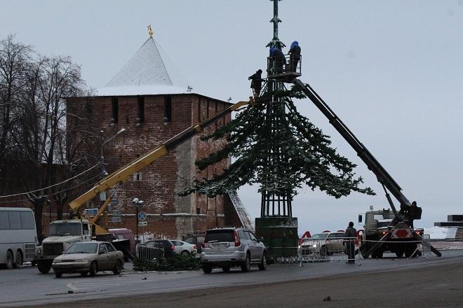 ВНижнем Новгороде кНовому году украсят 44 улицы и8 площадей