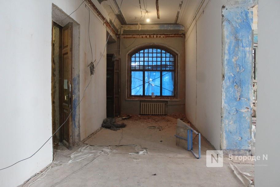 Реставрация Дворца творчества в Нижнем Новгороде выполнена на 10% - фото 3