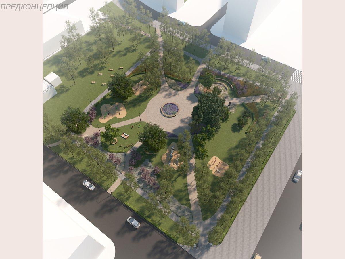 Без амфитеатра, но с детскими площадками: концепцию благоустройства Ковалихинского сквера утвердили нижегородцы - фото 4