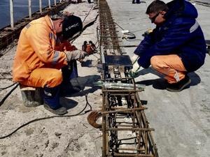 Затраты на освещение Мызинского моста снизятся вдвое