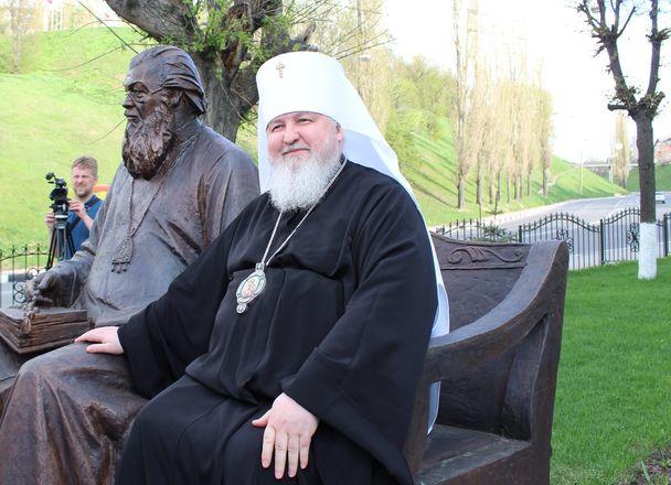 Памятник митрополиту Николаю появился в Нижнем Новгороде - фото 17