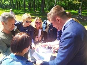 В Светлоярском парке высадят деревья ценных пород