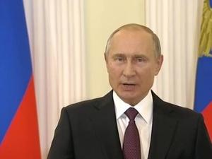 Путин поприветствовал участников нижегородского форума «Россия – спортивная держава»