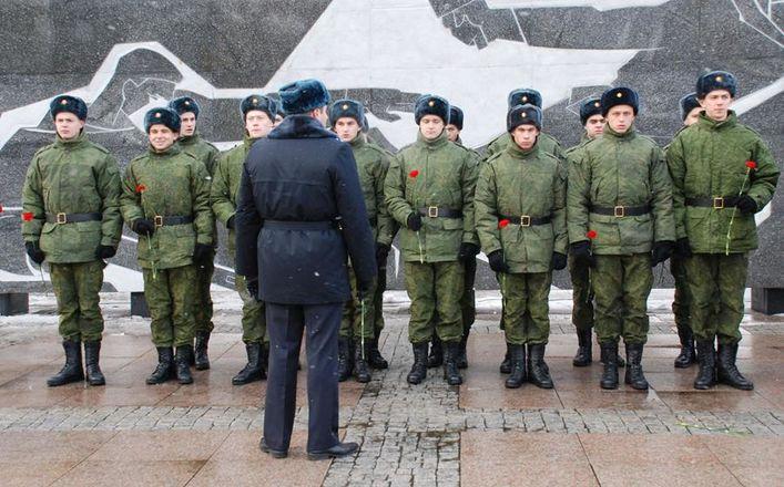 15 новобранцев изАлтайского края отправятся вПрезидентский полк