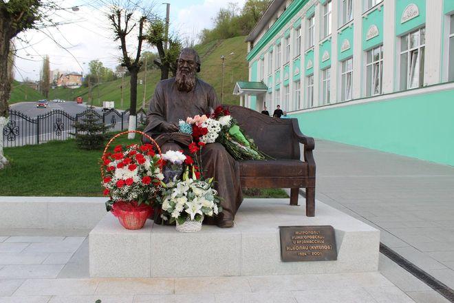 Памятник митрополиту Николаю появился в Нижнем Новгороде - фото 18