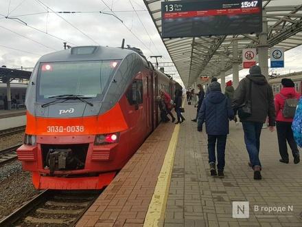 Число электричек от Нижнего Новгорода до Балахны возрастет с 8 декабря