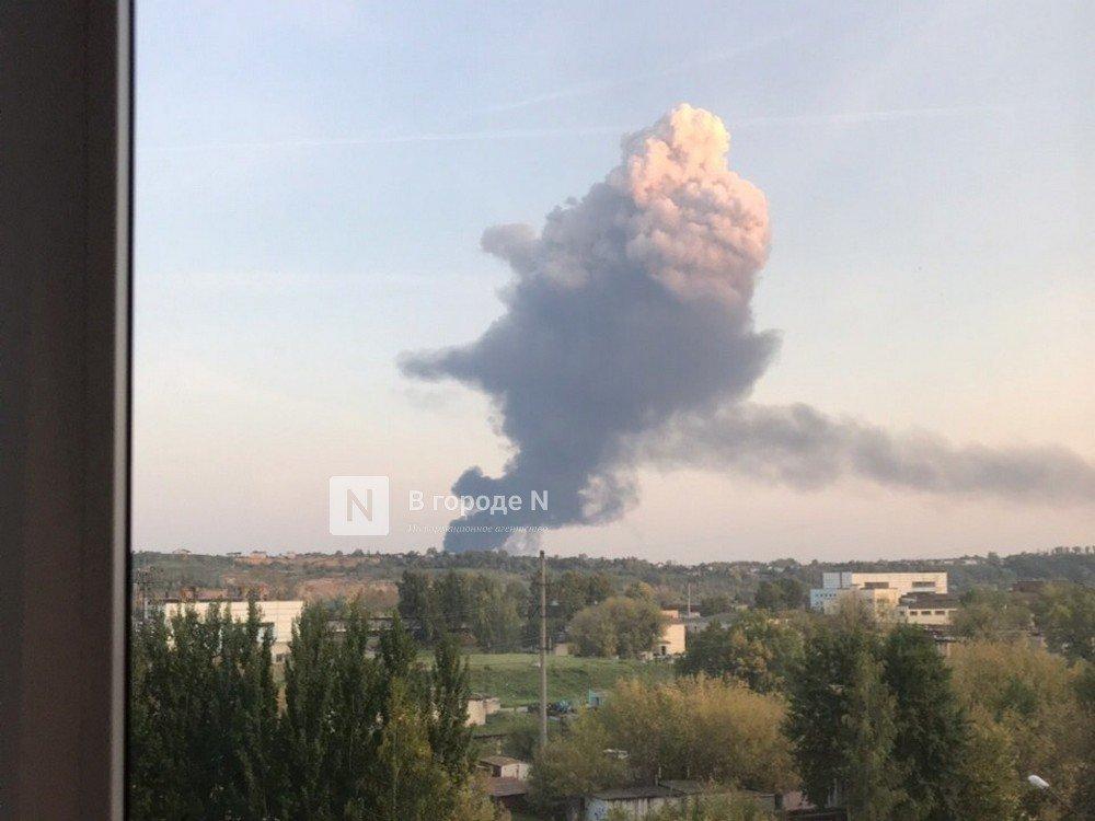 Загрязнения атмосферы после пожара в Кудьминской промзоне не зафиксировано - фото 1