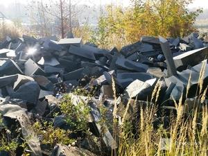 Полиция займется поиском причастных к появлению свалки из гранита на Шуваловском канале