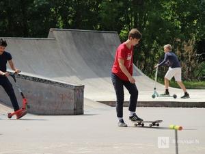 12 перспективных площадок под скейт-парки определили в Нижнем Новгороде