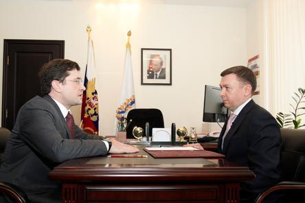 Сергей Баринов избавился от приставки и.о. на посту министра в Нижегородской области