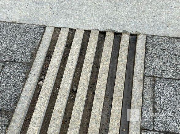 Стоки для воды на отремонтированных улицах Нижнего Новгорода доделают к 15 октября - фото 3