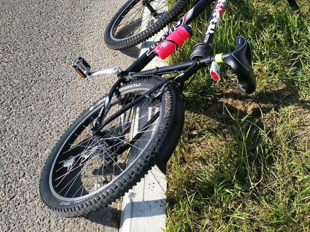 Велосипедист упал на проспекте Гагарина и получил травмы - фото 1