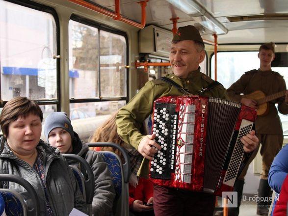 «Трамвай Победы» начал ходить по Нижнему Новгороду - фото 19