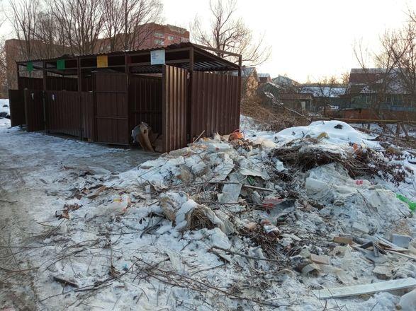 Нарушения выявлены на 8 контейнерных площадках в Приокском районе - фото 3