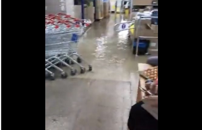 Нижегородский магазин затопило из-за ливня - фото 1