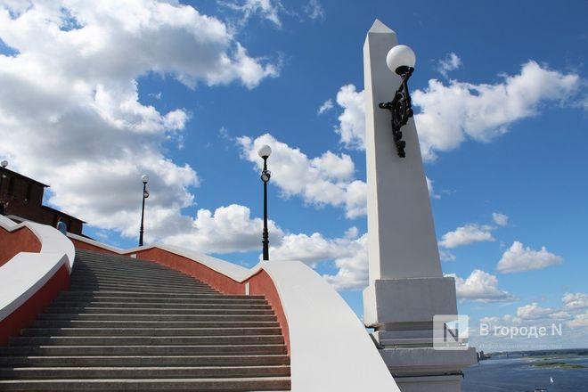 Чкаловскую лестницу открыли, несмотря на продолжающиеся ремонтные работы - фото 28