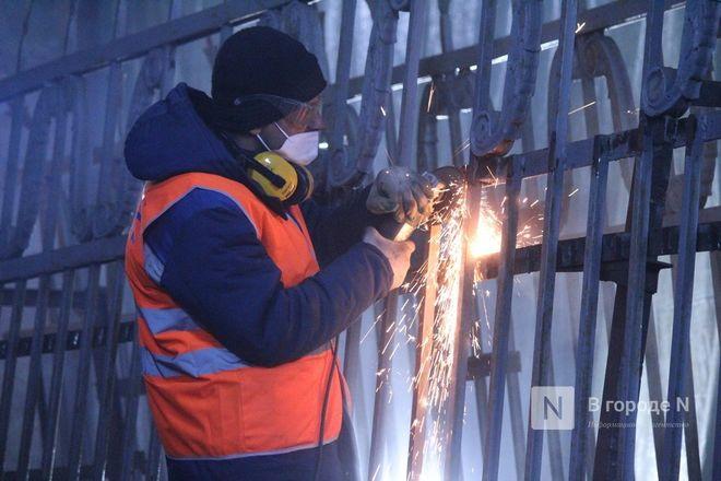 Как идет реставрация исторической ограды парка «Швейцария» - фото 54