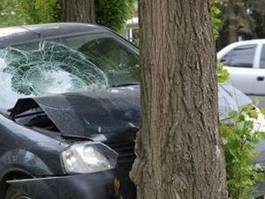 Водитель на «Ладе-Самаре» врезался в дерево в Сормовском районе